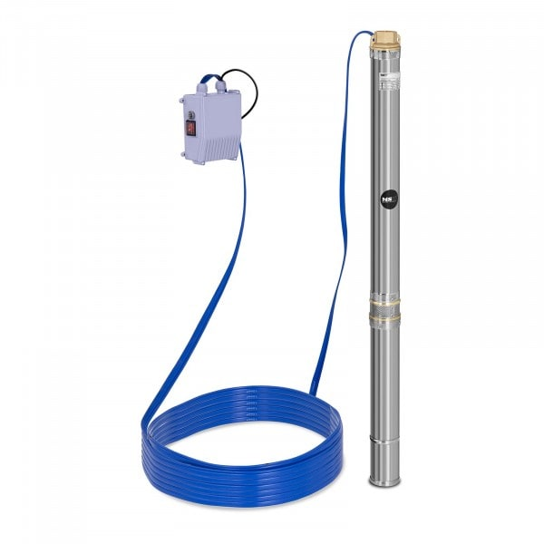 Brugt Brøndpumpe - 3.800 l/t - 550 W - rustfrit stål
