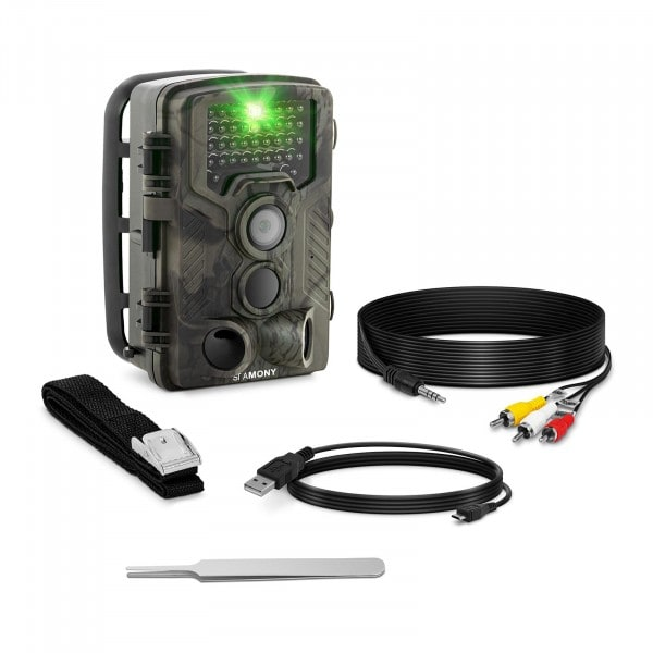 Factory second Game Camera - 8 MP - Full HD - 42 IR LEDs - 20 m - 0.3 s - 3G