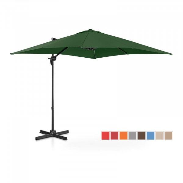 B-varer Hengeparasoll - grønn - rund - Ø 250 cm - kan dreies