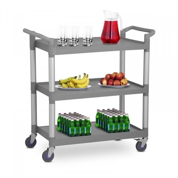 Serving Trolley - 3 Shelves - Up to 180 kg