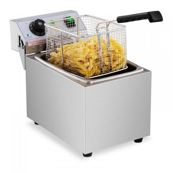 B-termék Vendéglátóipari fritőz - 8 liter - 230 V