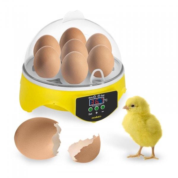 Hautomakone - 7 munaa - sis. läpivalaisulampun