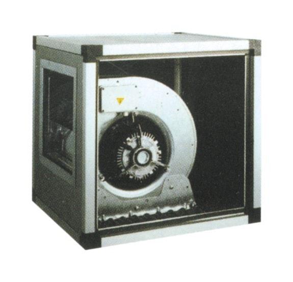 Abluftmotor mit Gebläse - 750x750x750 mm