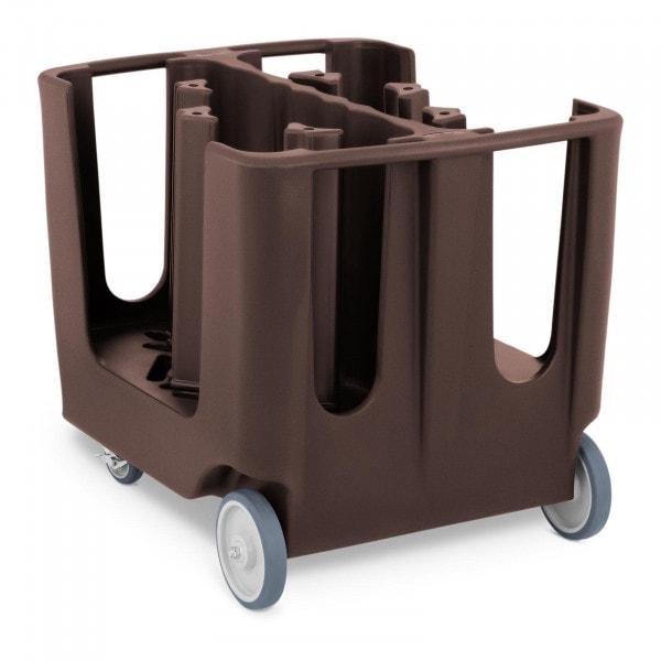 Dish Caddy - max. 300 plates - Ø 12 - 33 cm - 6 adjustable compartments