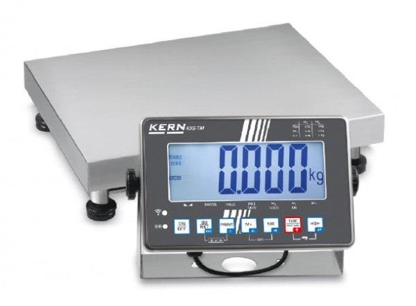 KERN Industriewaage Max 15 kg / 5 g | 30 kg / 10 g