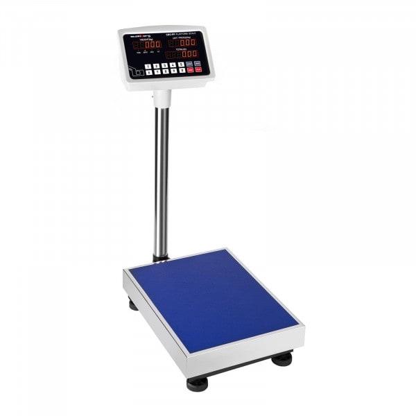 Gesamtansicht von Plattformwaage - 100 kg / 10 g - LED - 3086 - 1