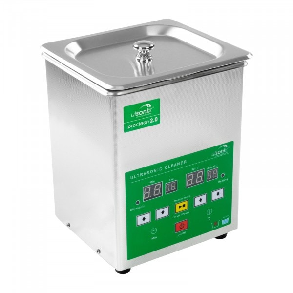 Factory seconds Ultrasonic cleaner - 2 litres - Memory Quick