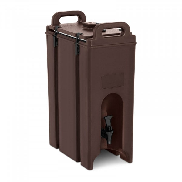 Insulated Beverage Dispenser - hot & cold - with drain tap - 18 L