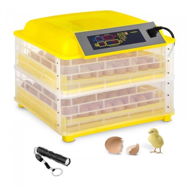 Hautomakone - 112 munaa - sis. läpivalaisulampun -täysautomaattinen