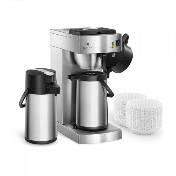 Artigos usados Máquina de café - 2 garrafas térmicas - proteção anti-calcário - 1000 filtros