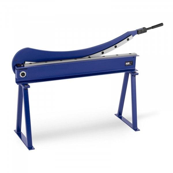 Metallplateklipper - 1000 mm snittlengde - inkl. stativ
