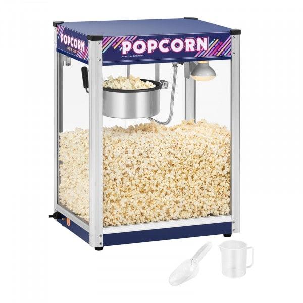 Kakkoslaatu Popcorn-kone, sininen - 8 oz
