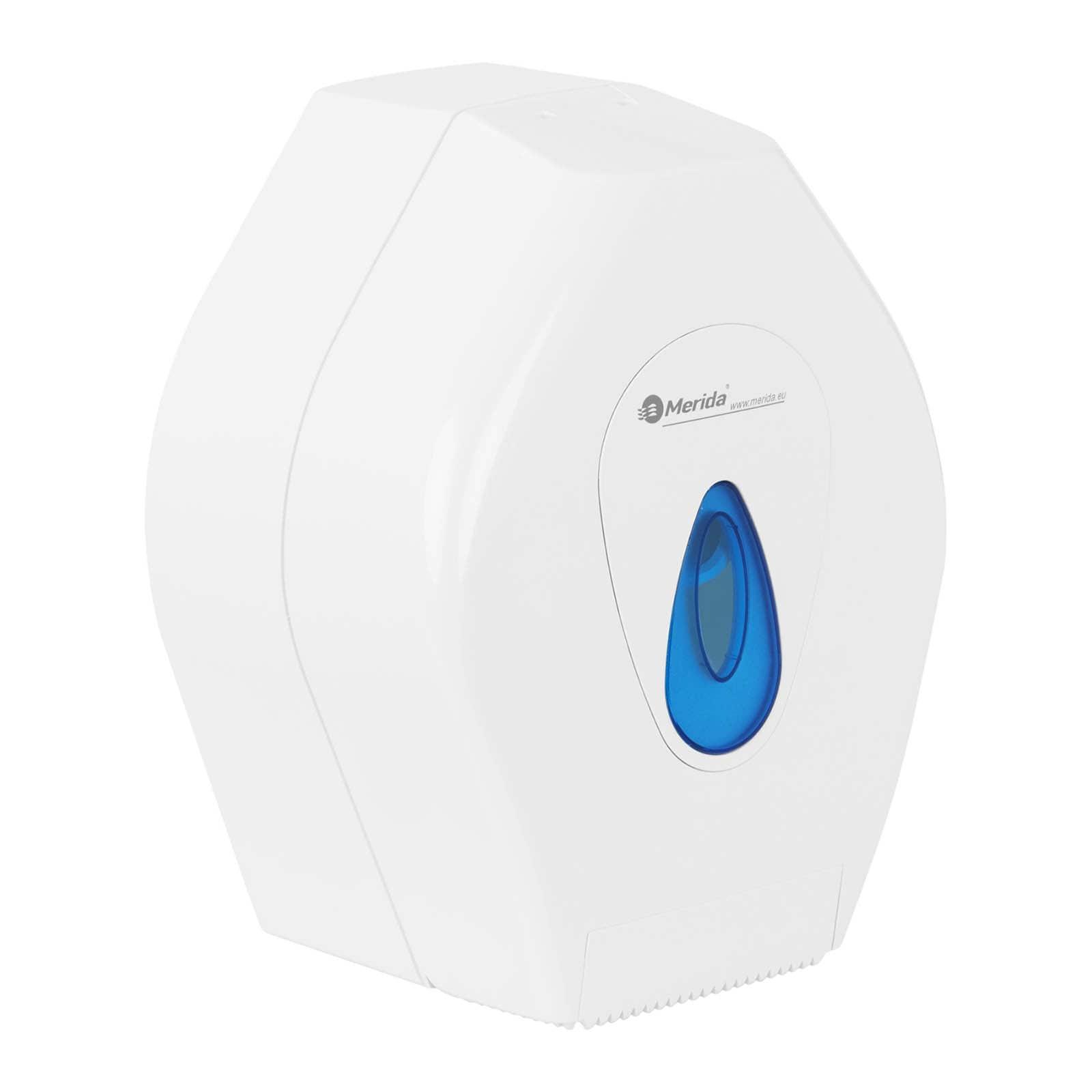 Pojemnik na papier toaletowy - ABS - niebieskie okienko