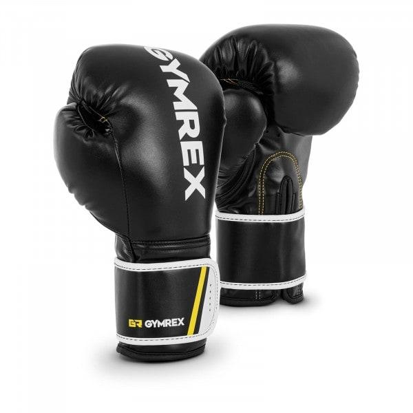 Boxerské rukavice - 12 oz - černé