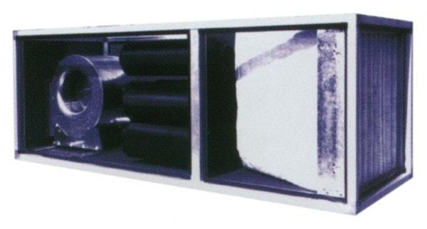 Abluftreinigungsanlage - 670x2000x670 mm