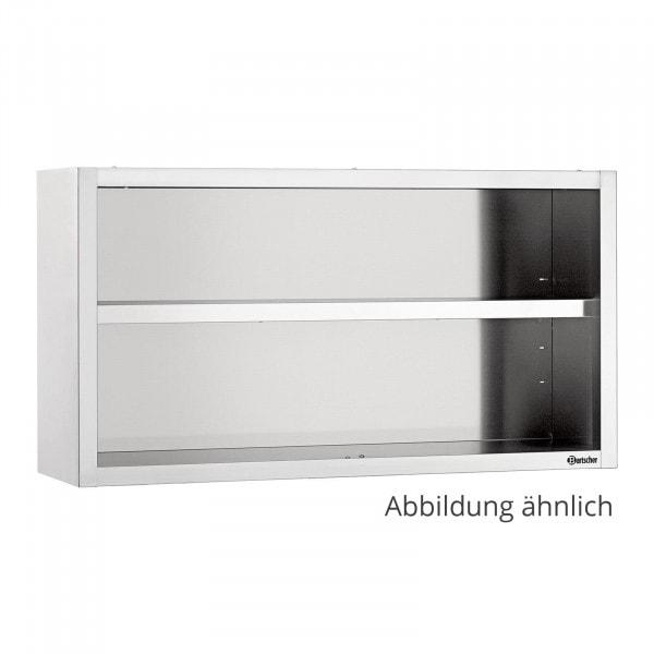 Bartscher nástěnná skříň otevřená 400 - Š 1800mm
