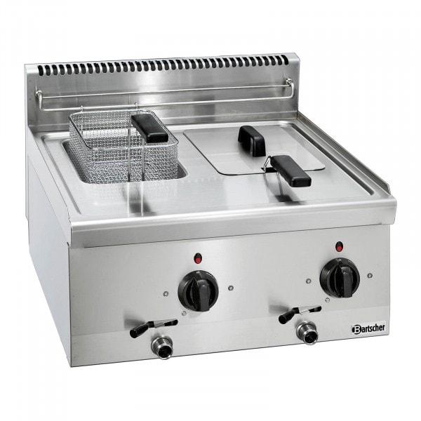Bartscher Fritteuse 600 - B 600mm - 2x 6 Liter
