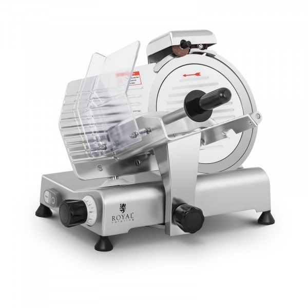 Meat Slicer - Ø 250 mm - 0 - 8 mm - with blade sharpener