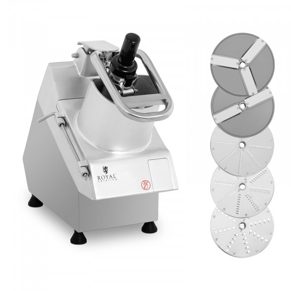 Electric Vegetable Cutter - 750 W - 5 cutting discs - Ø 205 mm