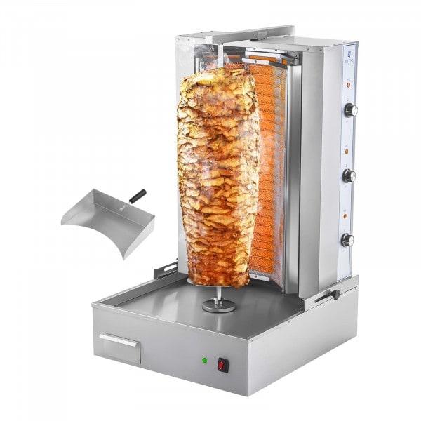 B-termék Gyros sütő - Kebab grill - 6000 W - 400 V