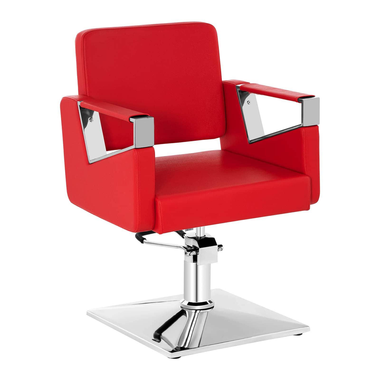Fotel fryzjerski Physa Bristol czerwony
