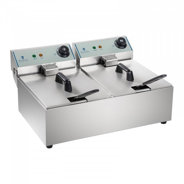 Electric Deep Fryer - 2 x 10 litres - ECO