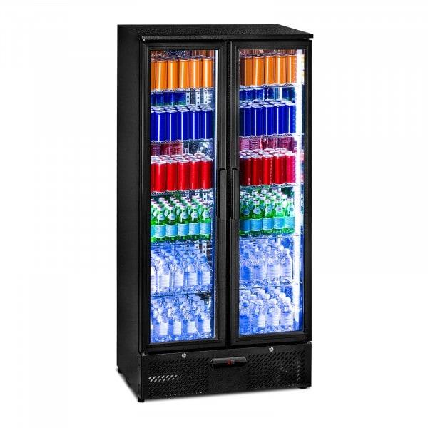 Getränkekühlschrank - 458 L - edles matt-schwarzes Design