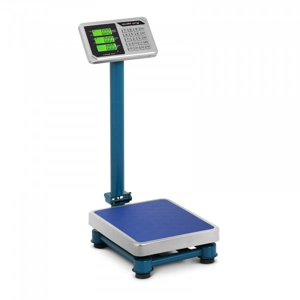 B-Ware Plattformwaage - 100 kg / 20 g - 40 x 30 cm - LCD - Edelstahl