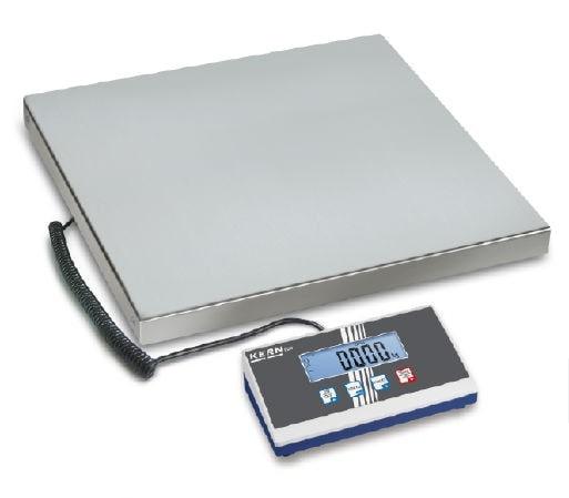 KERN Balanza de plataforma Max 150 kg / 50 g