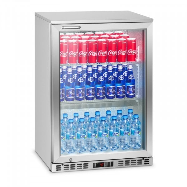 B-termék Mini italhűtő - 138 l - 150 W - rozsdamentes acél