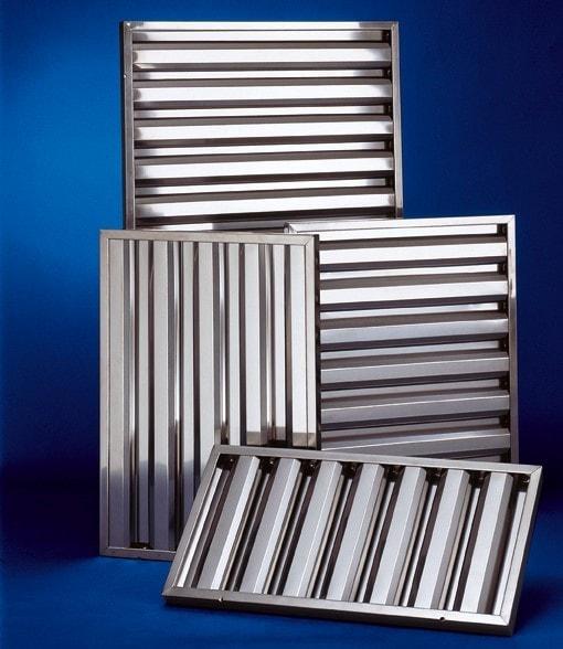 Flammschutzfilter 400x500x25 mm - aus CNS 18/10