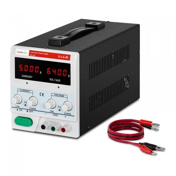 Laboratory Power Supply - 0-64 V - 0-5 A DC - 320 W