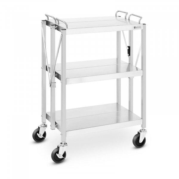 Wózek kelnerski - składany - 90 kg - 400 x 580 mm