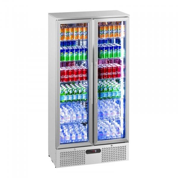 Flaskekjøleskap - 458 L - Rustfritt Stål