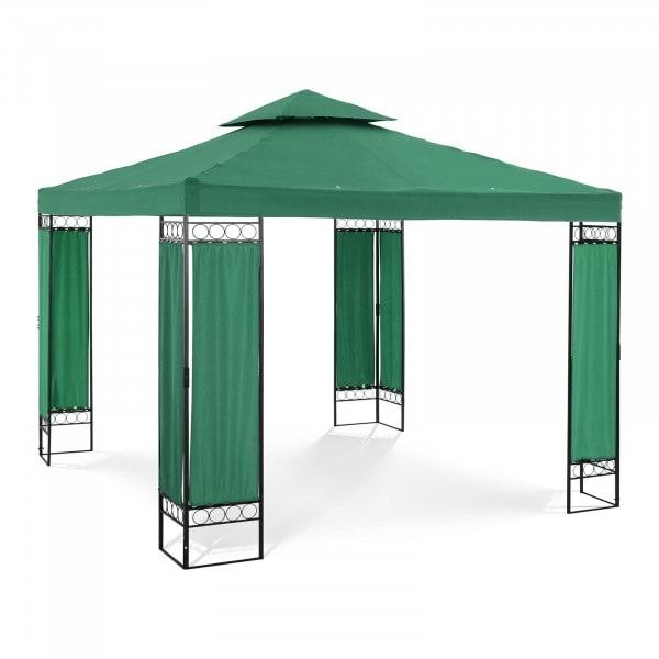 Tweedehands Tuin Pergola - 3 x 3 m - 160 g/m² - Donkergroen