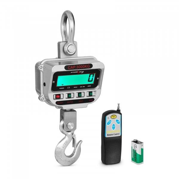 Crane Scales - 3 t / 0.5 kg - LCD