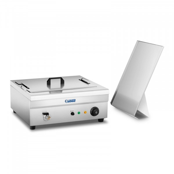 Donut Fryer - 18 litres - 3,200 W - cold zone