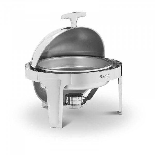 Brugt Chafing dish - kugleformet - 6 l - 1 brænder