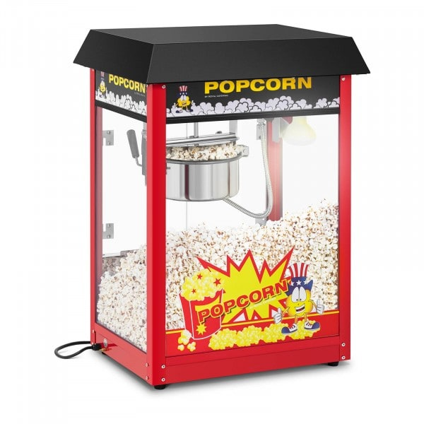 Popcorn machine - 120 s duty cycle - Black roof