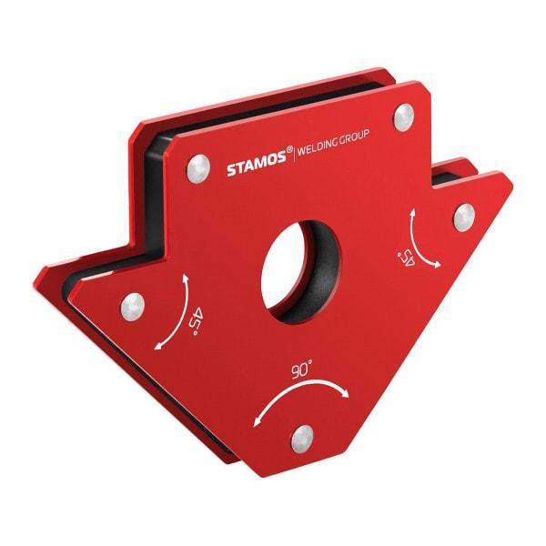 Supporto magnetico per saldatura - set da 2 pezzi - 15,5 x 10 x 2 cm