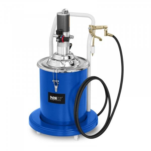 Zboží z druhé ruky Pneumatický mazací lis - 20 litrů - pojízdný - tlak čerpadla 300-400 barů