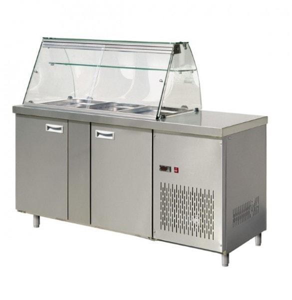 Saladette - 1530x700x850-1350mm