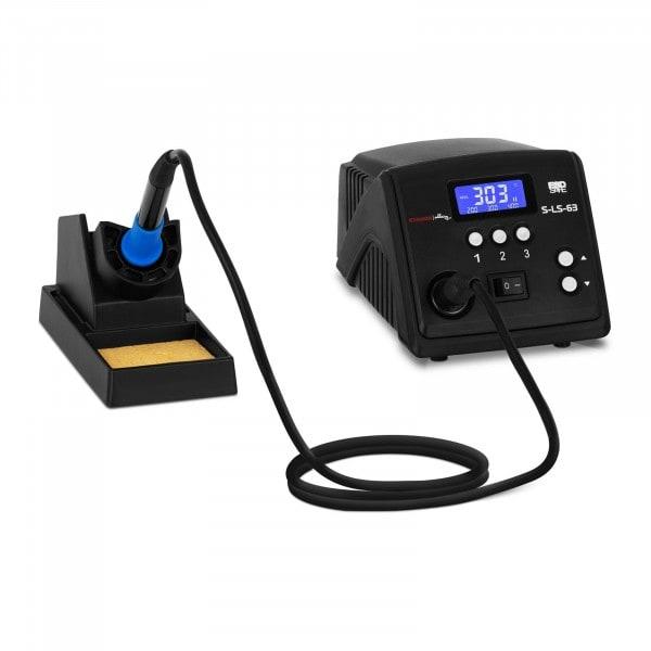 Lötstation - digital - mit Lötkolben und Lötkolbenablage - 100 W - LCD