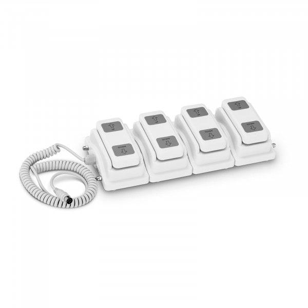 Włącznik nożny dla łóżek - dla 4 silników