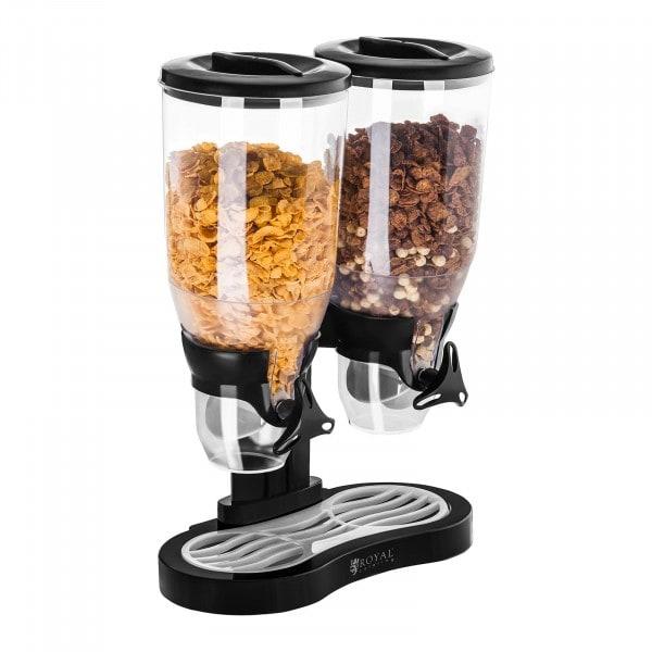 Dispenser per cereali doppio - 6 Litri