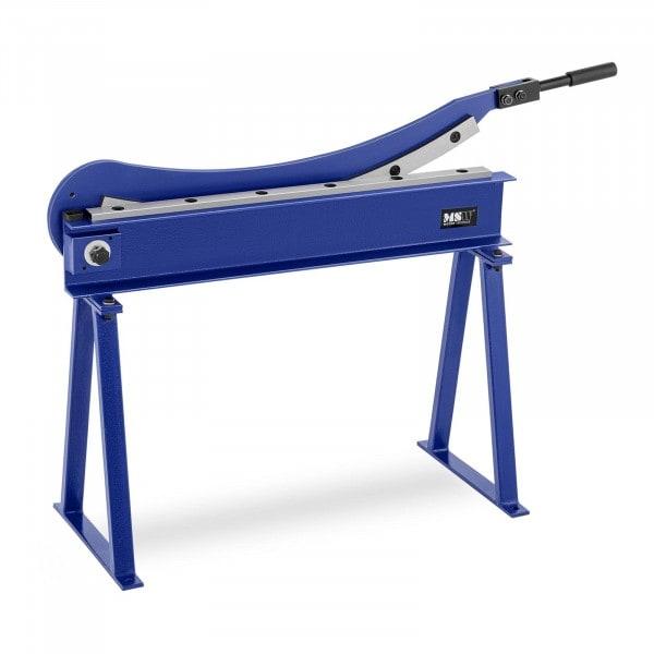 Metallplateklipper - 800 mm snittlengde - inkl. stativ
