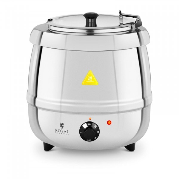 Soup Kettle - 10 L - 400 W - stainless steel