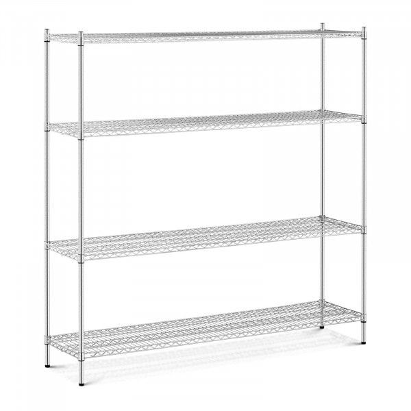 Estantería de metal - 180 x 45 x 180 cm - 1.000 kg