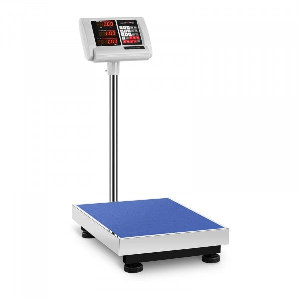 Báscula de plataforma - 150 kg / 10 g - 50 x 40 cm