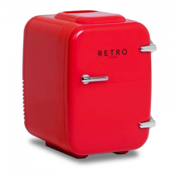 Brugt Mini-køleskab - 4 l - rødt